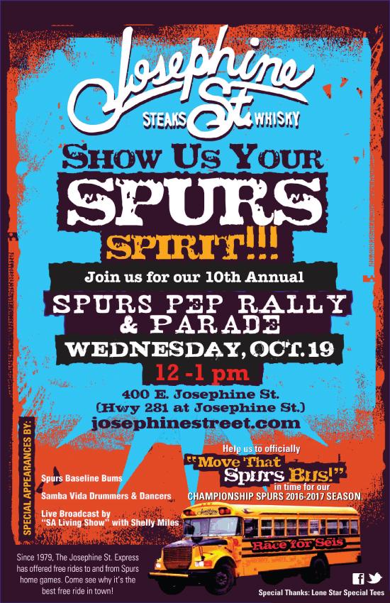 Spurs Rally